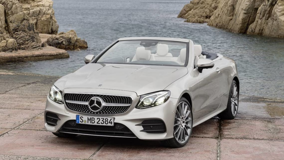 2017 mercedes benz e class cabriolet opens up car news for Convertible mercedes benz 2017