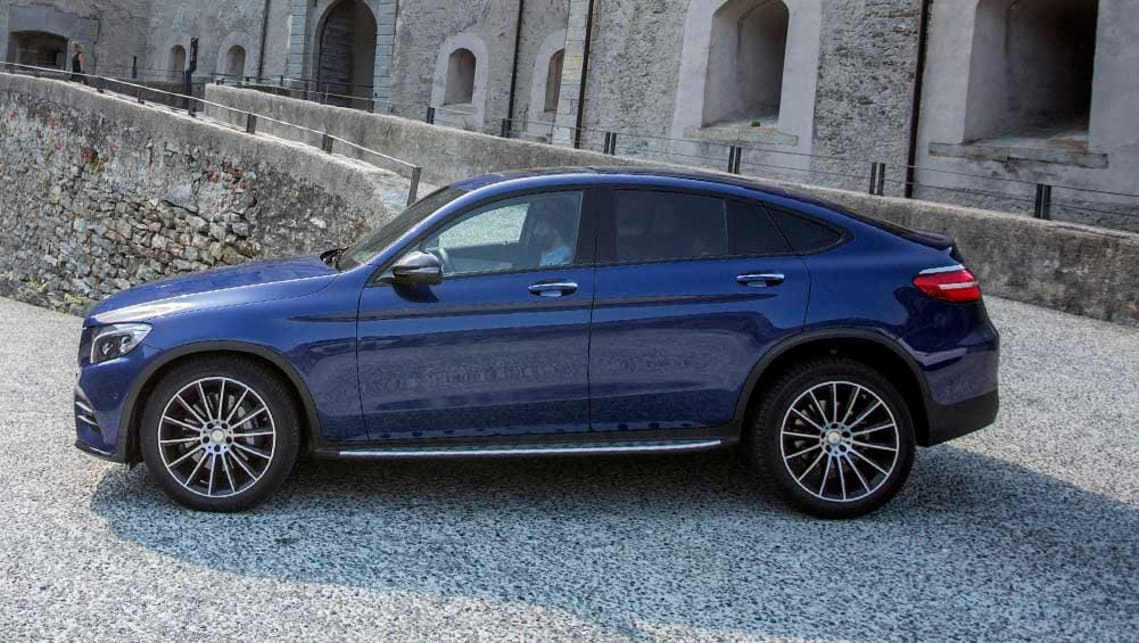 Mercedes benz glc coupe 2016 review carsguide for Mercedes benz glc review