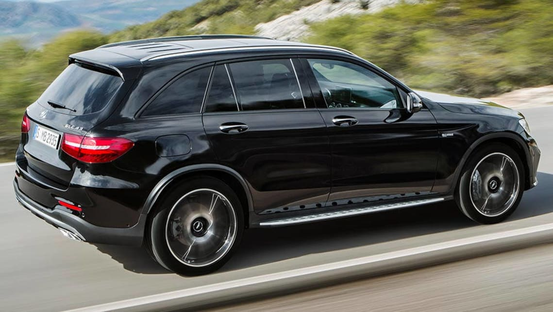 2016 mercedes glc coupe unveiled at the new york motor. Black Bedroom Furniture Sets. Home Design Ideas