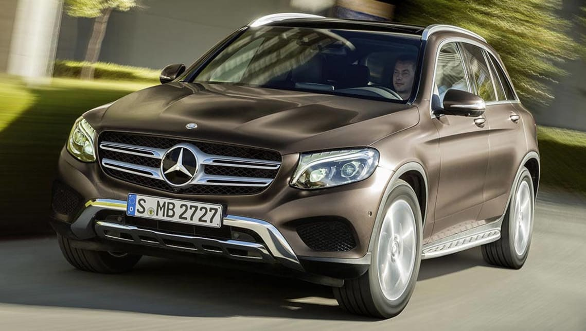 2015 mercedes benz glc suv pricing announced car news for Mercedes benze suv