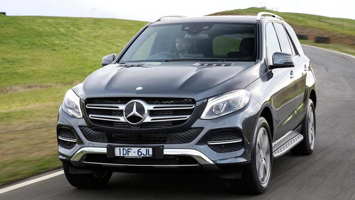 Captivating 2015 Mercedes Benz GLE 250d