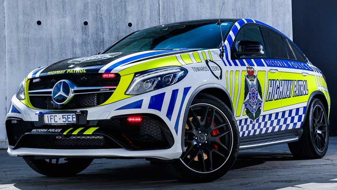 Australia S Fastest Police Car Revealed Mercedes Gle63 Amg Coupe