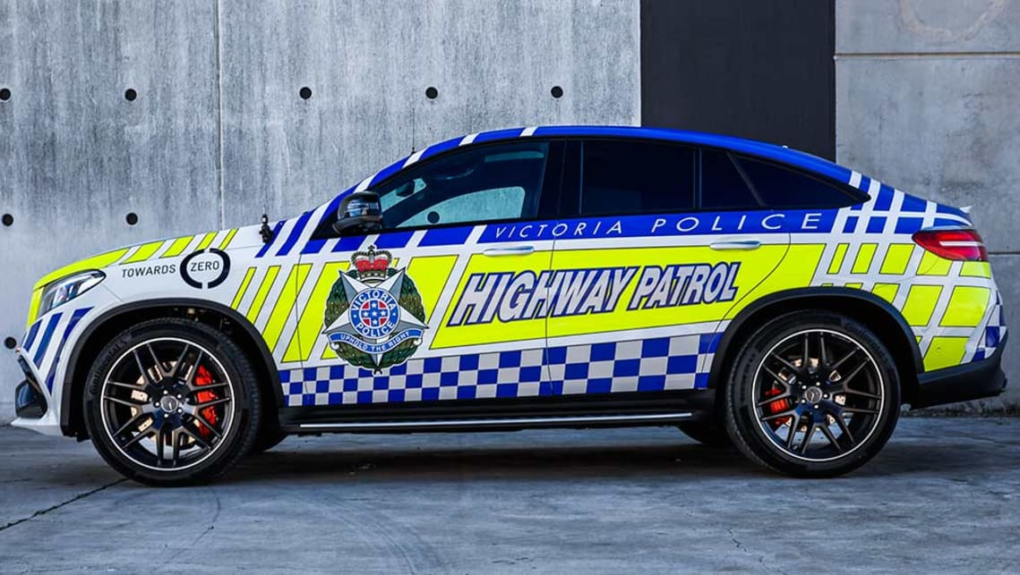 Australiau0027s Fastest Police Car Revealed | Mercedes GLE63 AMG Coupe