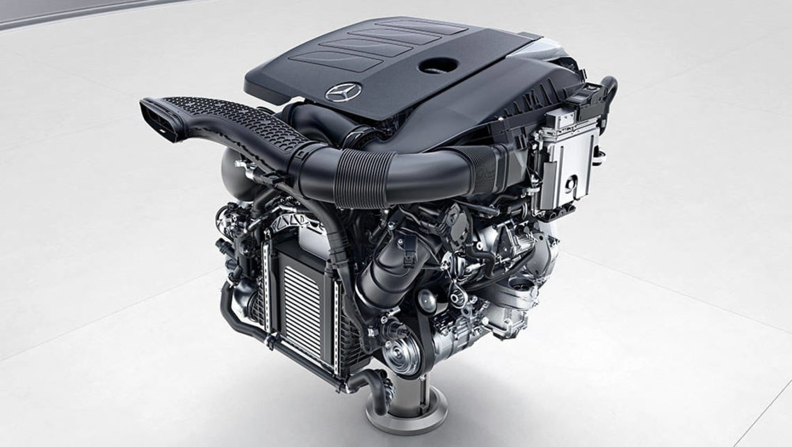 Next gen mercedes engines bring 48v electrics and the for Motor mercedes benz