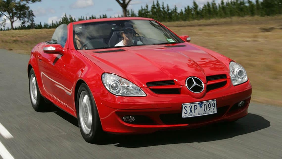 mercedes benz slk used review 1997 2014 carsguide. Black Bedroom Furniture Sets. Home Design Ideas