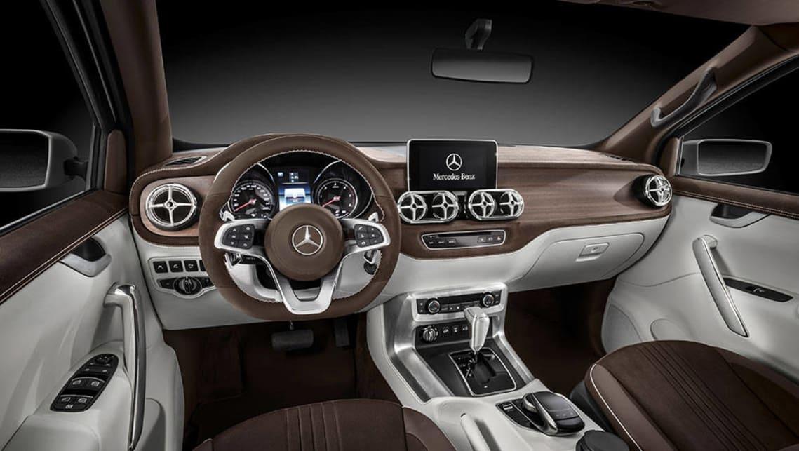 Mercedes-Benz reveals X-Class ute concepts - Car News ...