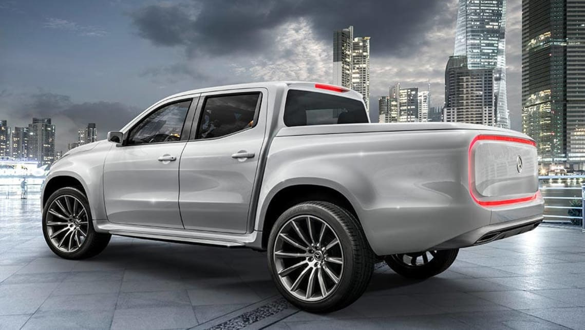 2018 Mercedes Pick Up Truck >> Mercedes-Benz reveals X-Class ute concepts - Car News | CarsGuide