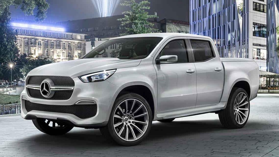 Mercedes ute concept