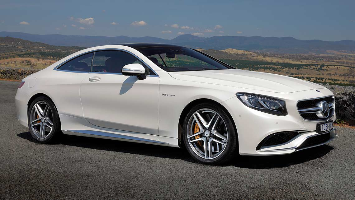 Mercedes coupe 2015