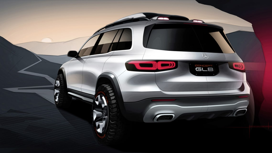 At just over 4.6m long, close to 1.9m wide and 1.9m high the GLB is relatively small for a seven-seat vehicle.