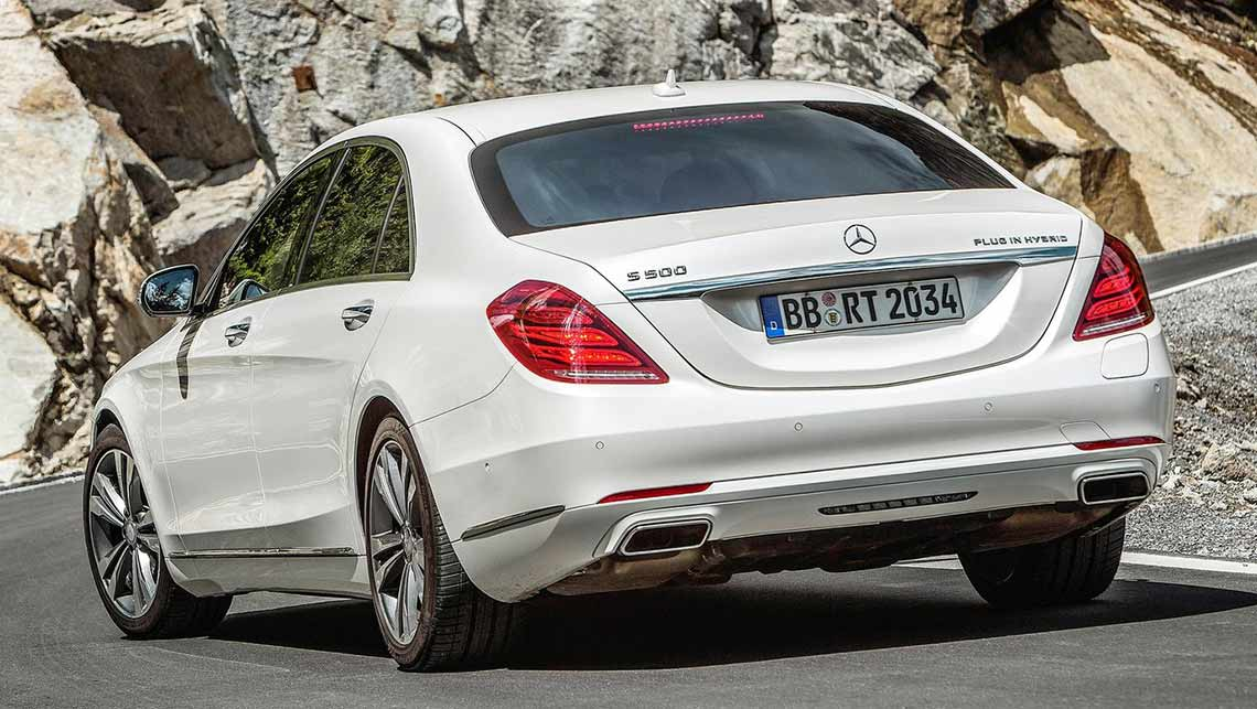 Mercedes S Plugin Hybrid