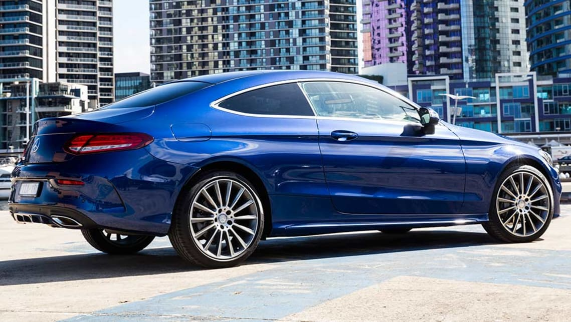 Mercedes Benz C Class Coupe 2016 Review Carsguide