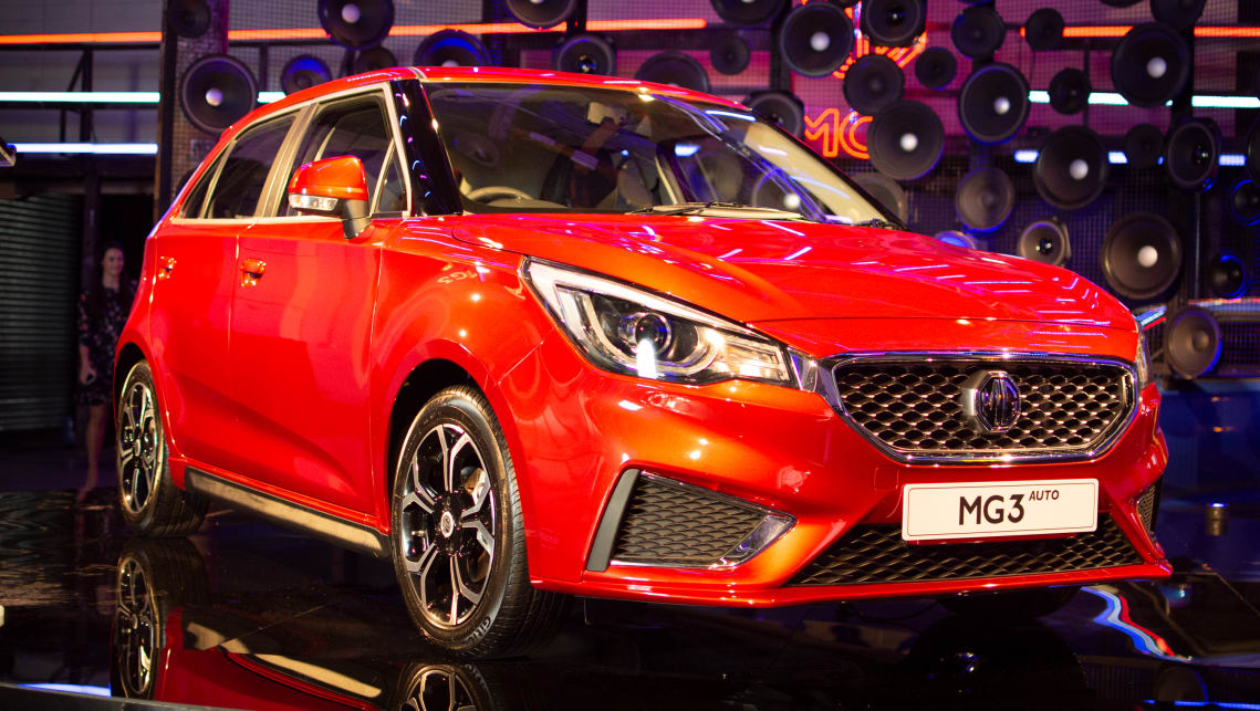 Mg3 2018 Pricing And Spec Confirmed Car News Carsguide
