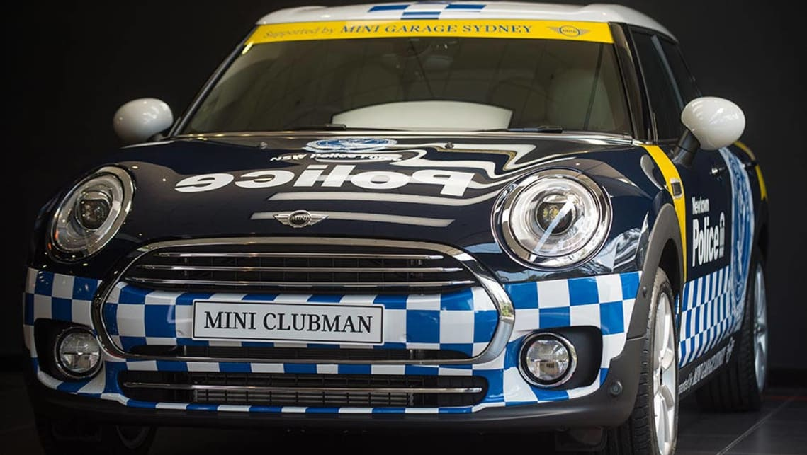Mini Clubman adds to NSW Police fleet - Car News | CarsGuide