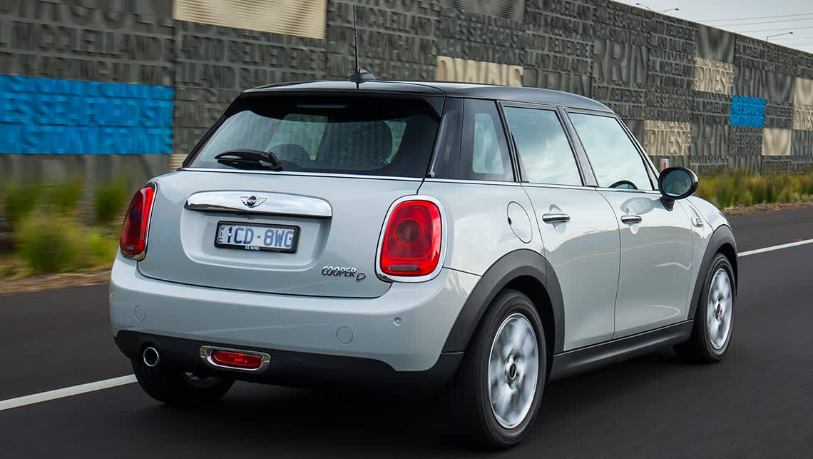 2015 mini cooper d 5 door hatch review carsguide. Black Bedroom Furniture Sets. Home Design Ideas