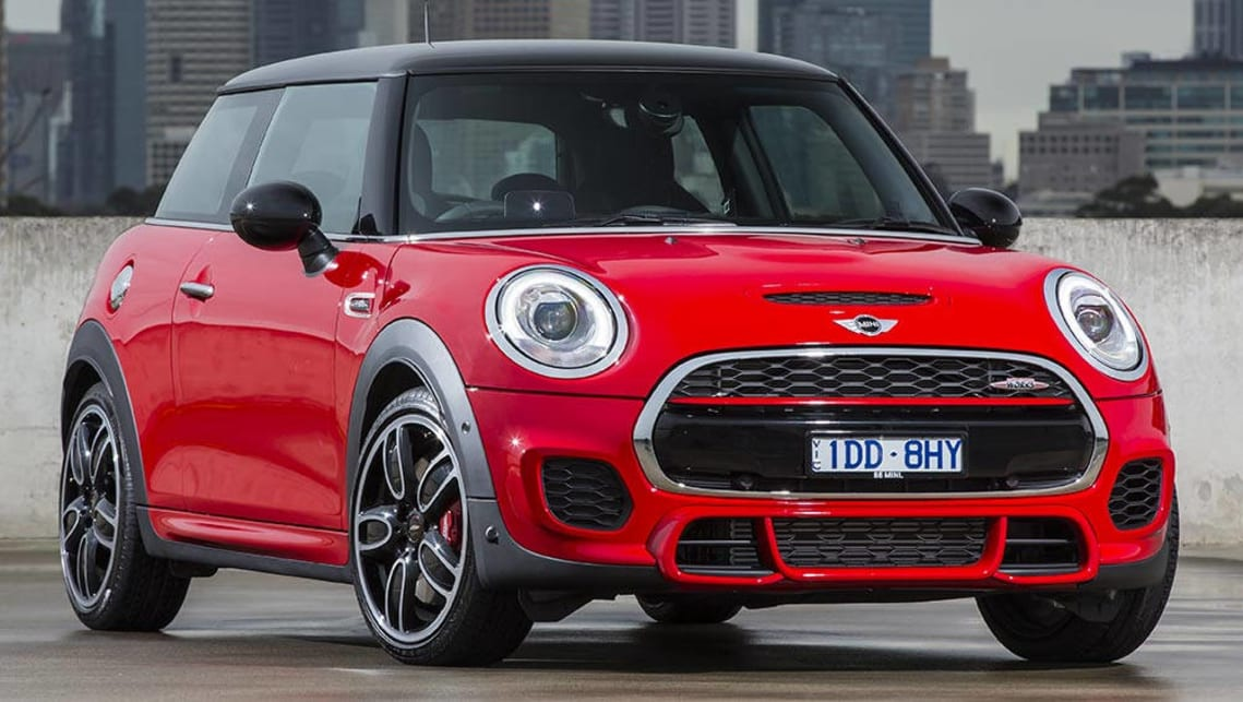 mini john cooper works hatch 2016 review carsguide. Black Bedroom Furniture Sets. Home Design Ideas