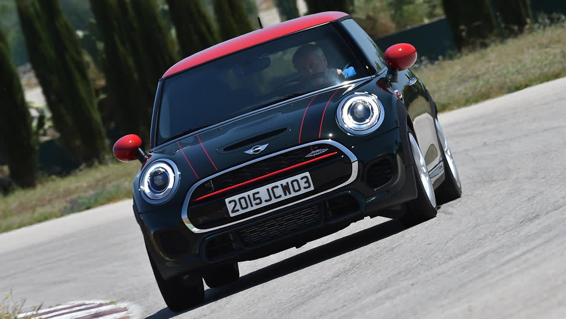 Mini Cooper Jcw 2015 Review Carsguide