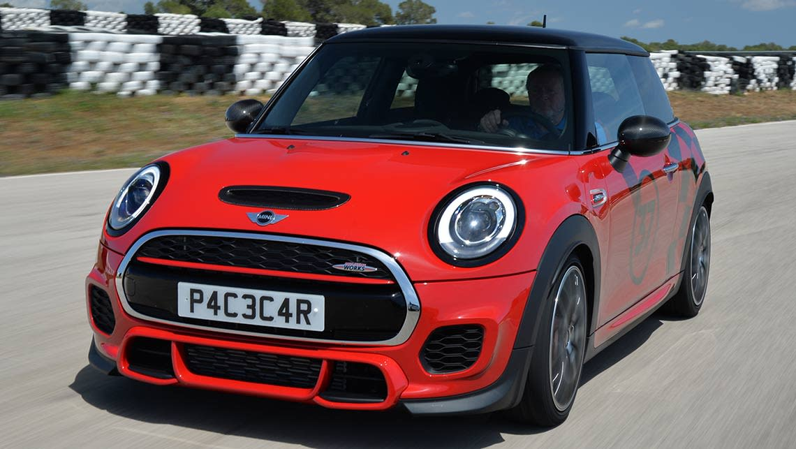 2015 mini jcw hatch review carsguide. Black Bedroom Furniture Sets. Home Design Ideas