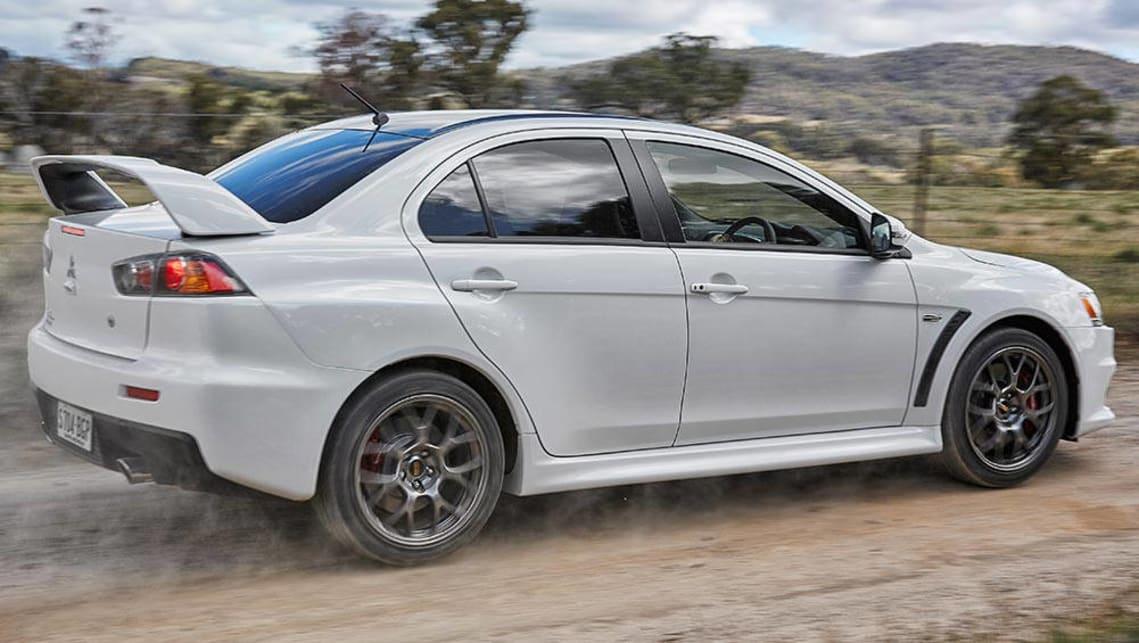 Mitsubishi evo car sales