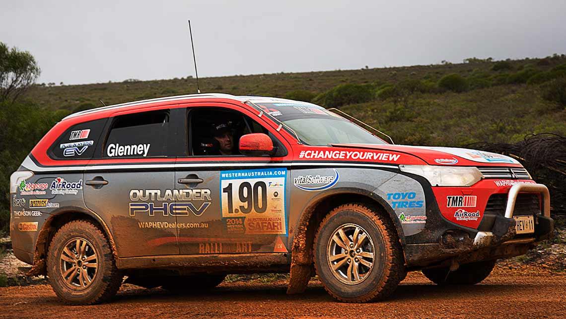 Safari Success For Mitsubishi Outlander Phev Car News