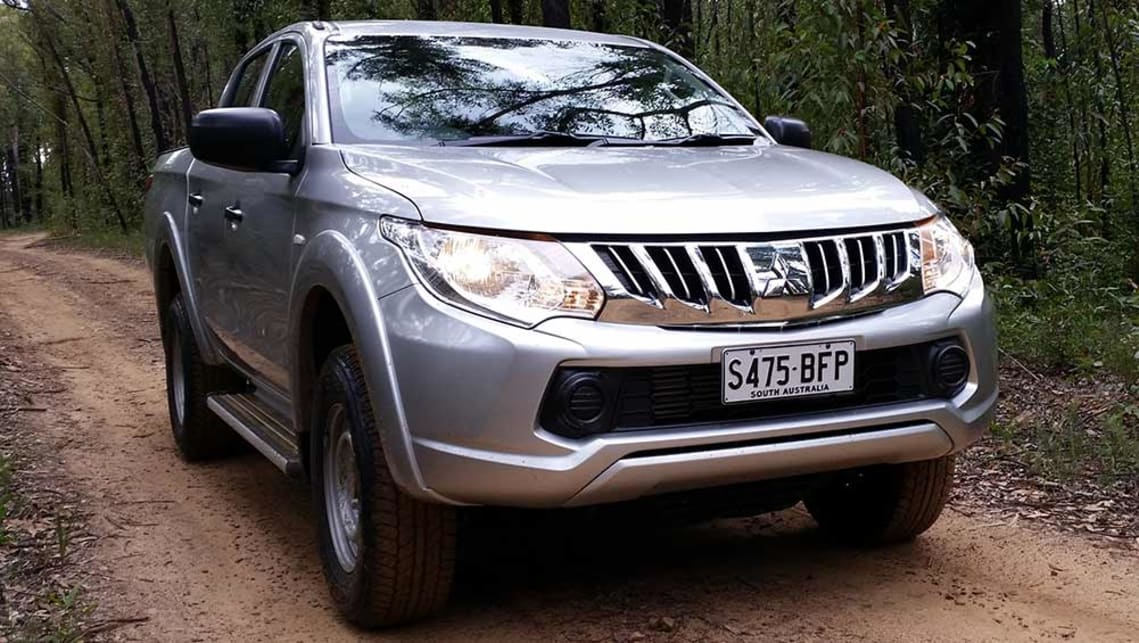 2016 mitsubishi triton exceed 4wd dual cab ute review road test carsguide. Black Bedroom Furniture Sets. Home Design Ideas