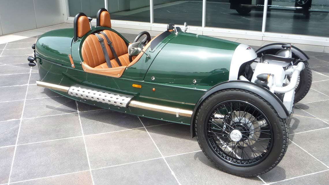 morgan 3 wheeler headed to australia car news carsguide. Black Bedroom Furniture Sets. Home Design Ideas