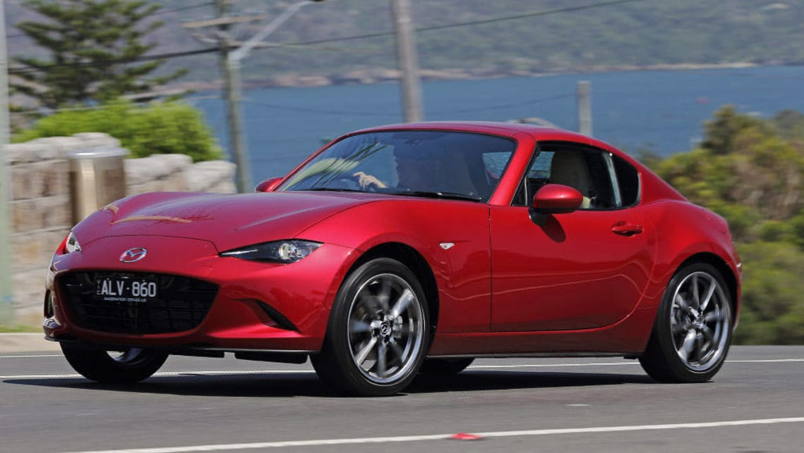 2017 Mx 5 Rf >> Mazda MX-5 RF 2017 review | CarsGuide