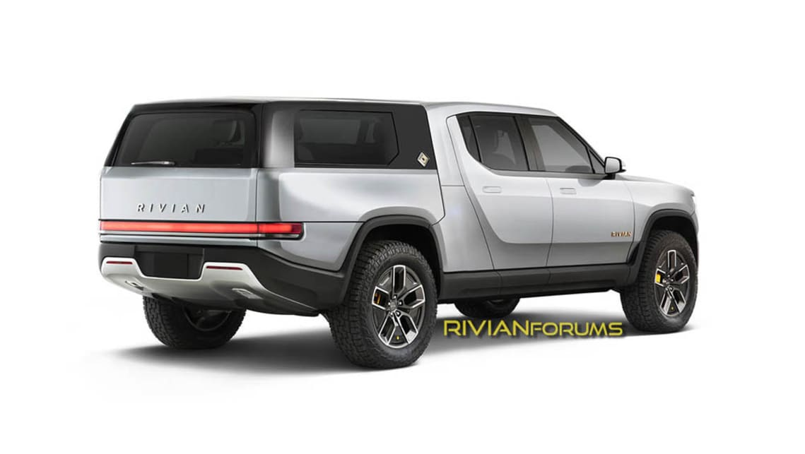 The Rivian R1T is not only ahead of the game in terms of drivetrain tech - the brand's design patents are super clever, too. (Photo credit: Rivian Forums)
