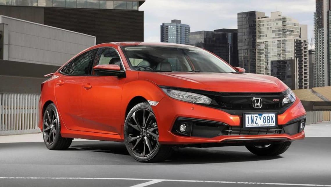 Honda Civic 2019 Sedan Pricing And Specs Revealed Car News Carsguide