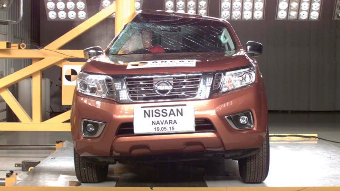 NP300 Nissan Navara awarded five star safety rating by ANCAP  Car