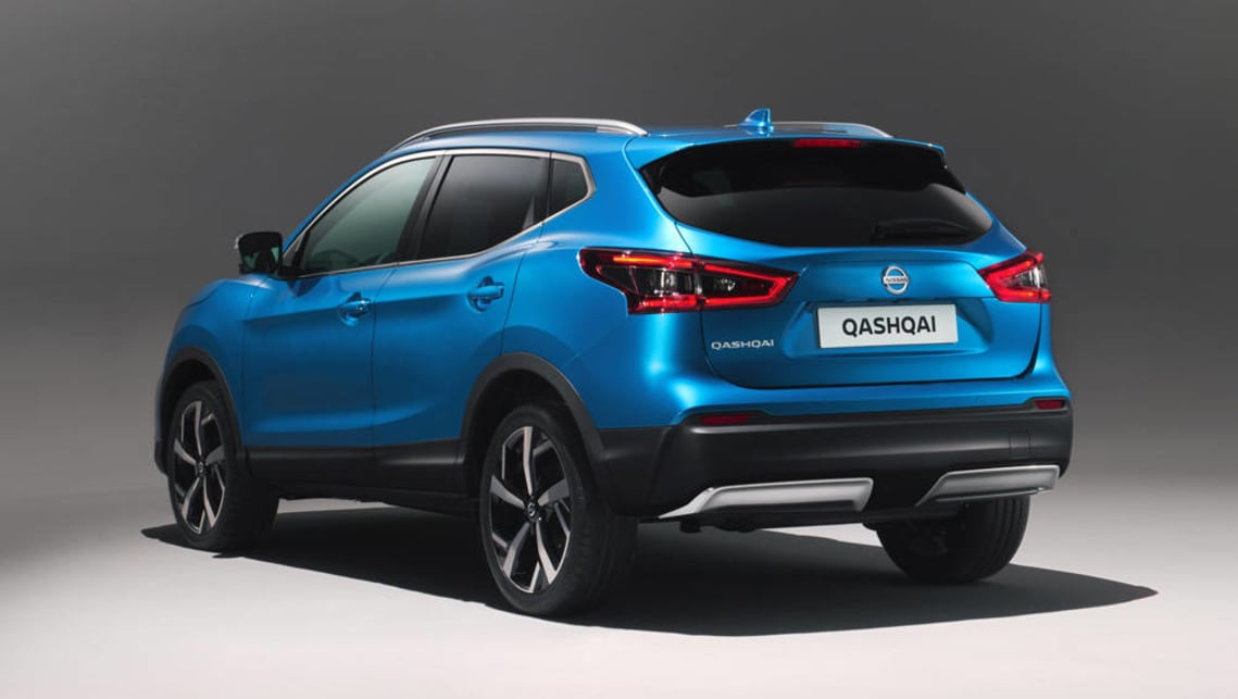 2018 nissan qashqai revealed car news carsguide. Black Bedroom Furniture Sets. Home Design Ideas
