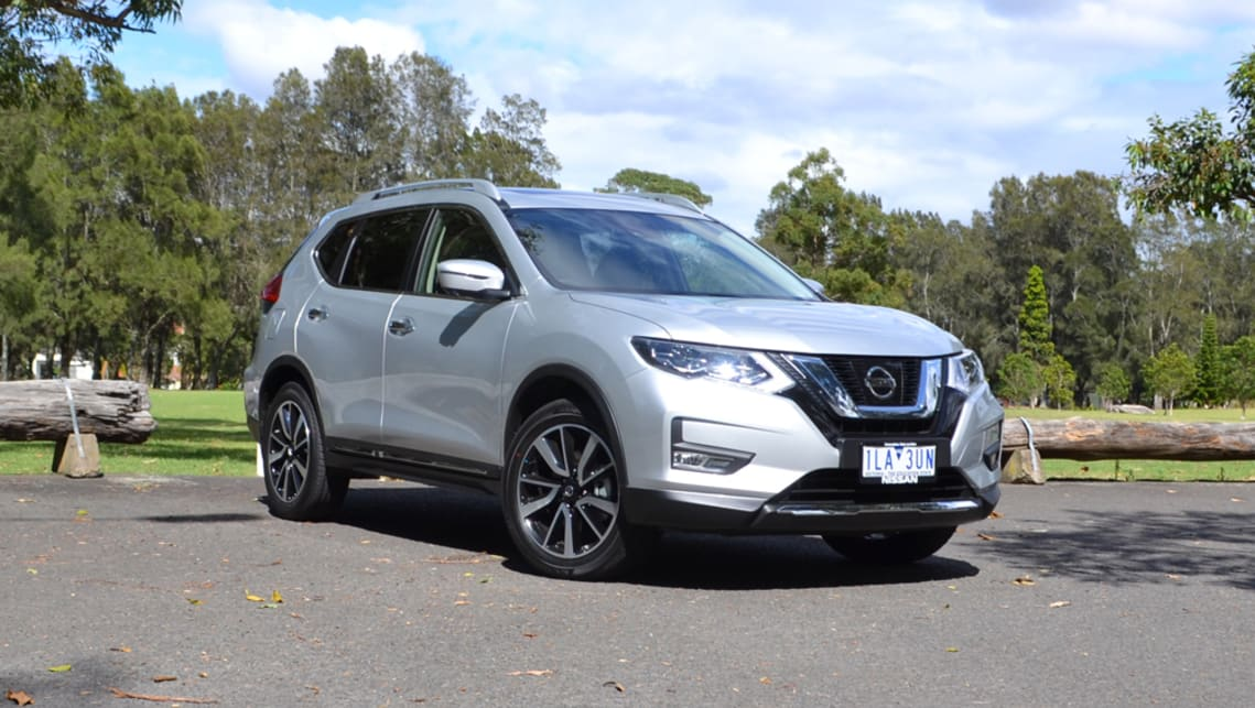 nissan x trail 2018 review tl diesel carsguide. Black Bedroom Furniture Sets. Home Design Ideas