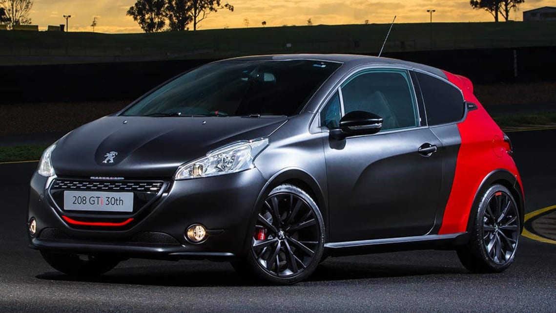 2016 peugeot 208 gti 30th anniversary review road test carsguide. Black Bedroom Furniture Sets. Home Design Ideas