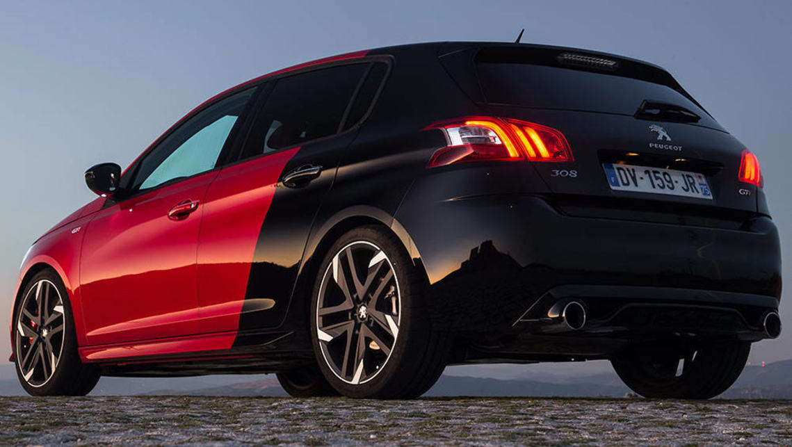 peugeot 308 gti 2015 review carsguide. Black Bedroom Furniture Sets. Home Design Ideas