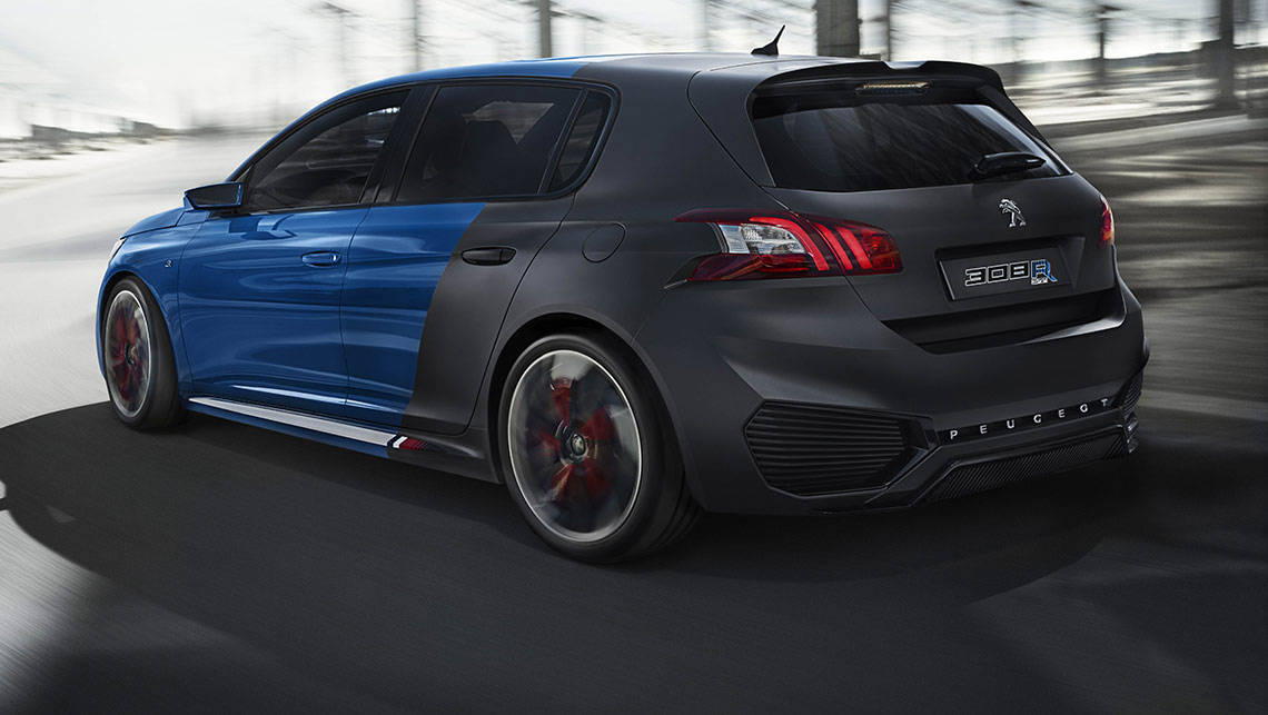peugeot 308 r hybrid almost set for production - car news | carsguide