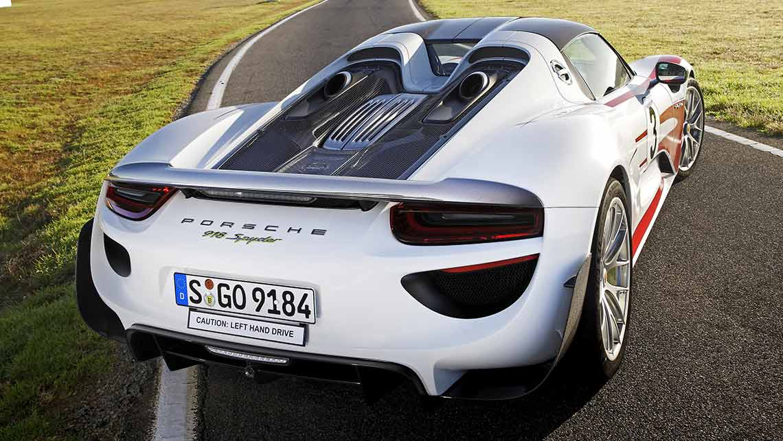 lct scuppers porsche 918 spyder for australia car news carsguide. Black Bedroom Furniture Sets. Home Design Ideas