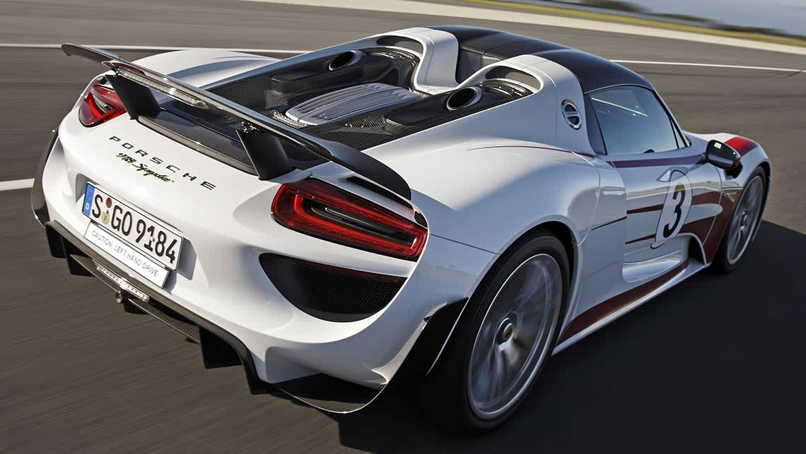 Lct Scuppers Porsche 918 Spyder For Australia Car News Carsguide