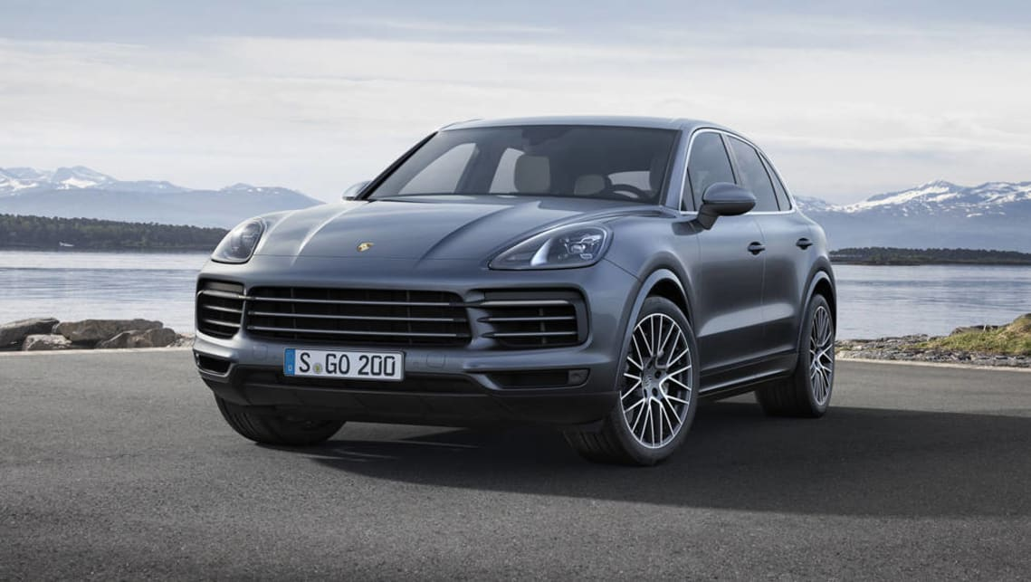 porsche cayenne turbo 2018. fine 2018 porsche cayenne 2018 revealed ahead of frankfurt show to porsche cayenne turbo