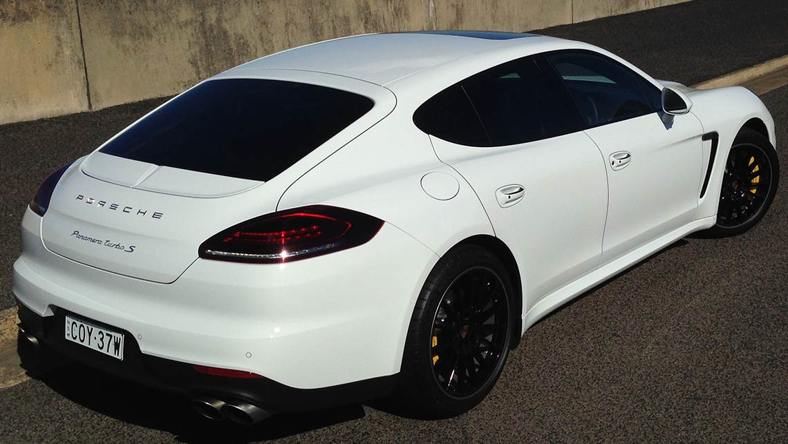 porsche panamera turbo s 2014 review carsguide. Black Bedroom Furniture Sets. Home Design Ideas