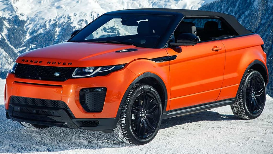 range rover evoque convertible 2016 review carsguide. Black Bedroom Furniture Sets. Home Design Ideas