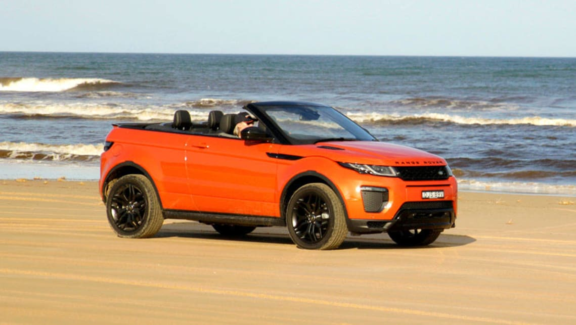 range rover evoque convertible 2016 review first australian drive carsguide. Black Bedroom Furniture Sets. Home Design Ideas