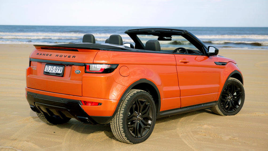 Land Rover Range Rover Evoque Convertible 2016 Review
