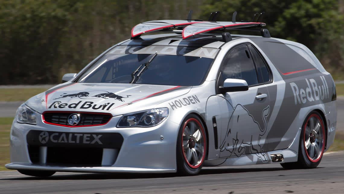 Red Bull S V8 Supercar Take On Aussie Classic Sandman