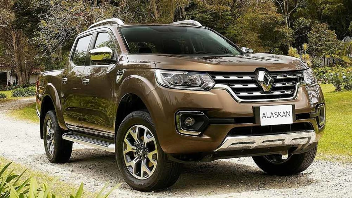 2018 Renault Alaskan ute to be positioned as semipremium  Car