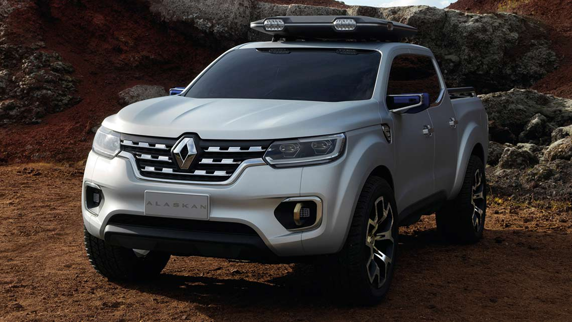 renault alaskan ute concept detailed car news carsguide. Black Bedroom Furniture Sets. Home Design Ideas