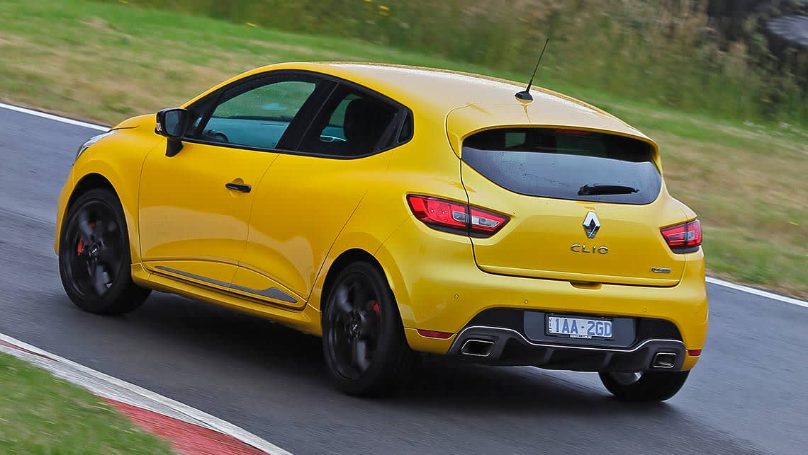 Renault clio rs sport