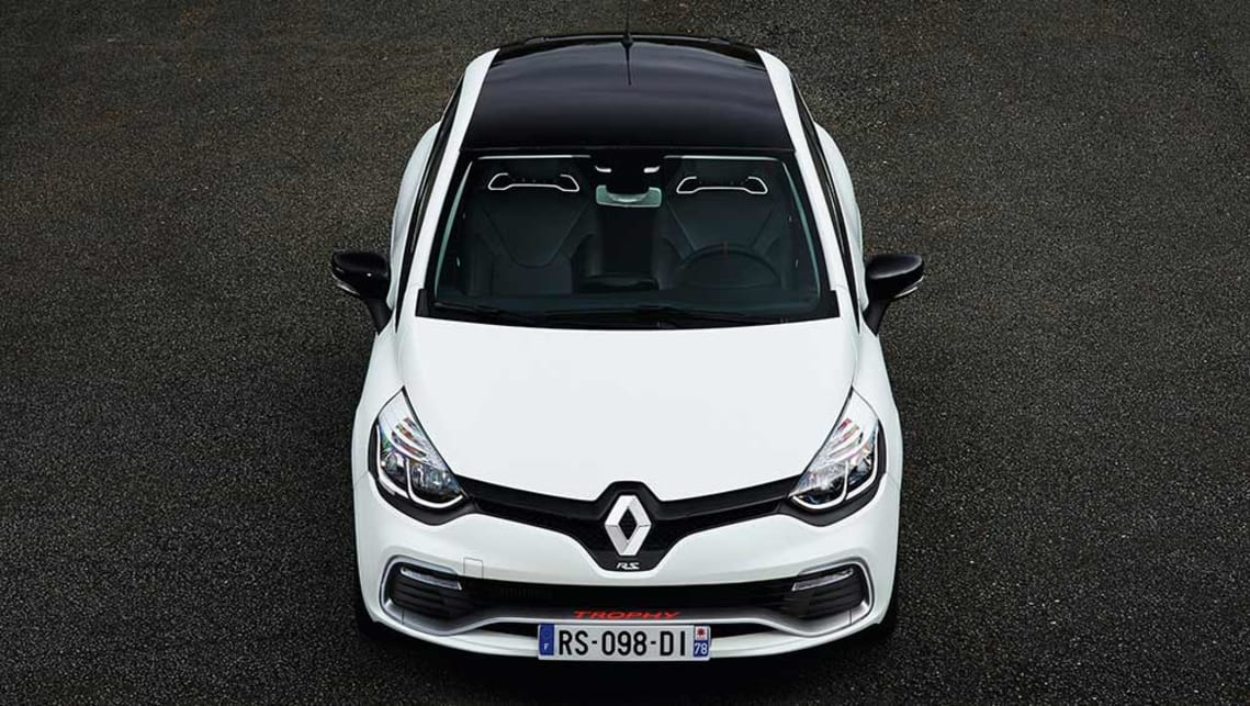 renault clio rs 220 edc trophy 2016 review carsguide. Black Bedroom Furniture Sets. Home Design Ideas