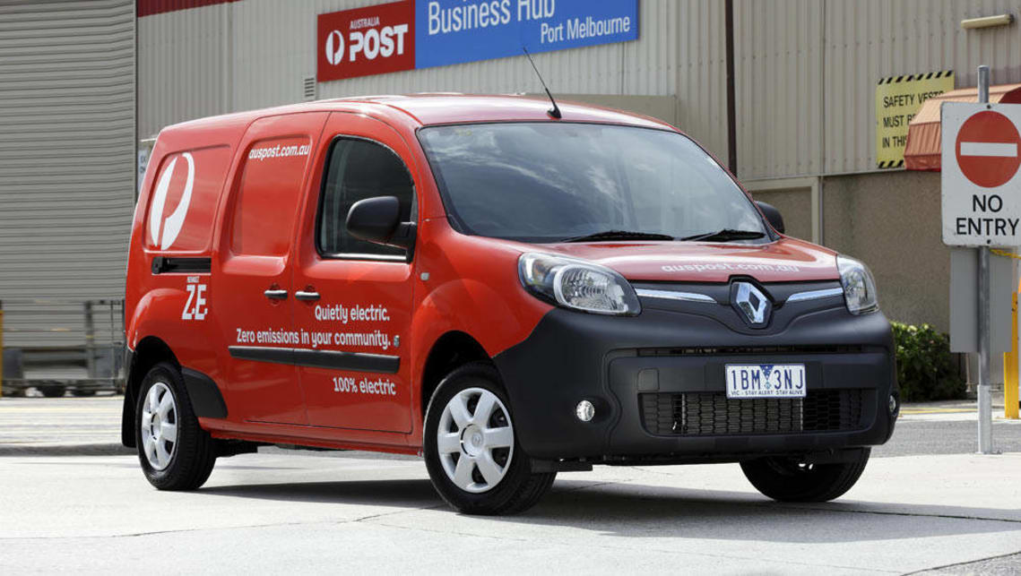 electric renault kangoo ze van sparks council interest car news carsguide. Black Bedroom Furniture Sets. Home Design Ideas