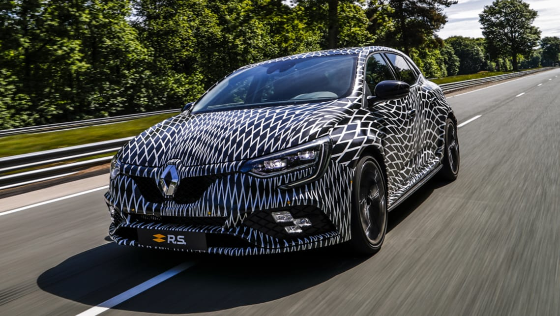 Renault Megane Rs 2018 To Get Dual Clutch Auto For First Time Car