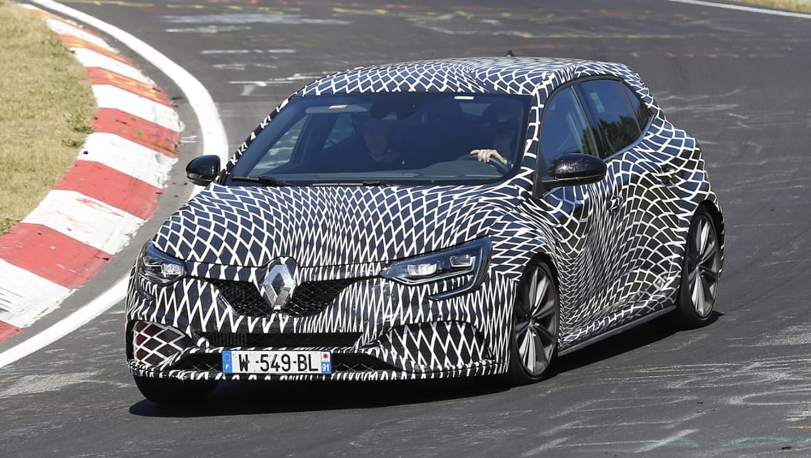 2018 renault megane rs trophy. interesting megane renault megane rs 2018 spotted hotlapping nurburgring on renault megane rs trophy h